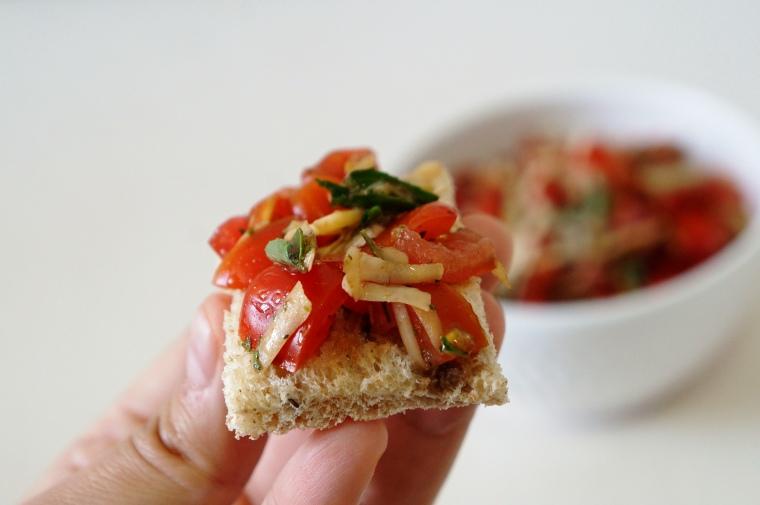 receita tomatinhos