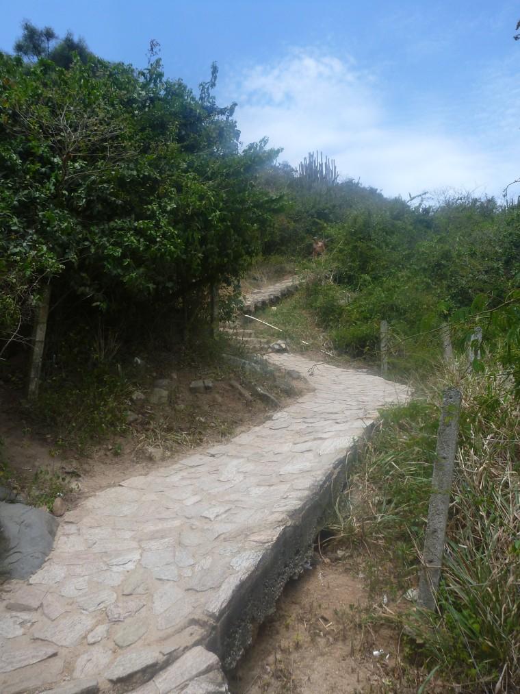 trilha praia