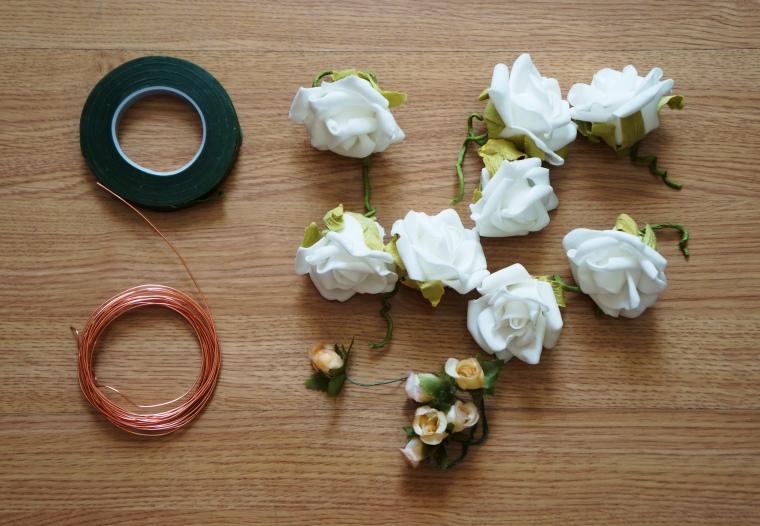 Arame . Fita Floral . Flores Artificiais
