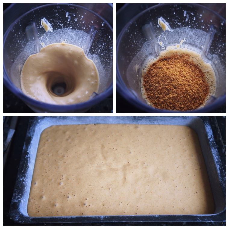 massa bolo de amendoim