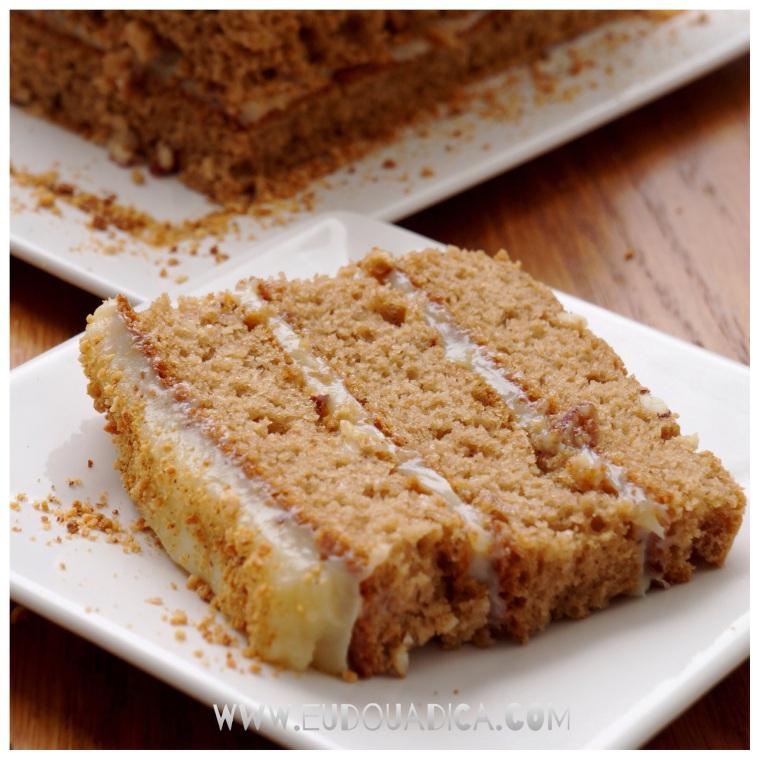 fatia bolo de amendoim