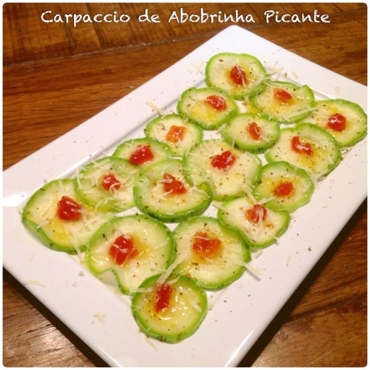 Carpaccio Abobrinha