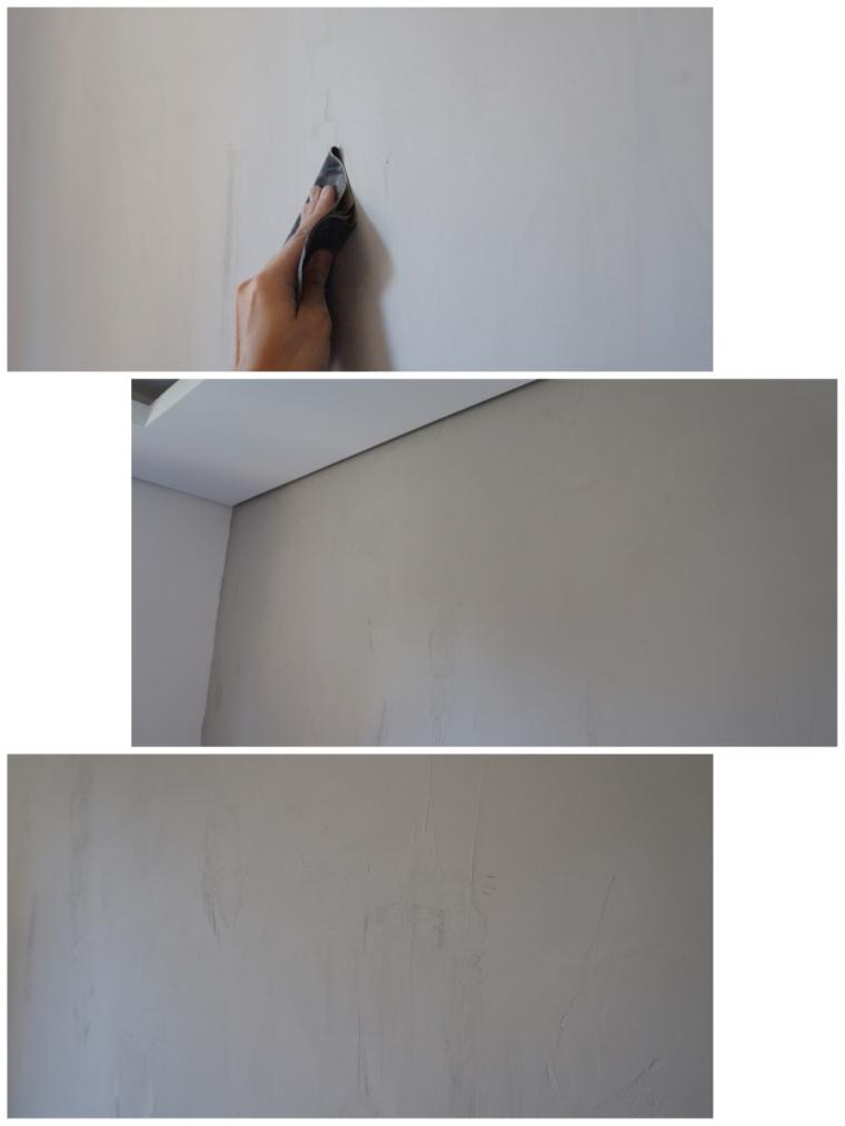 Lixar parede